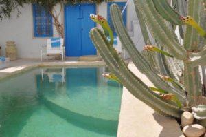 Chambres d'hôtes Dar Bibine Djerba, djerbahood, réserveation, erriadh