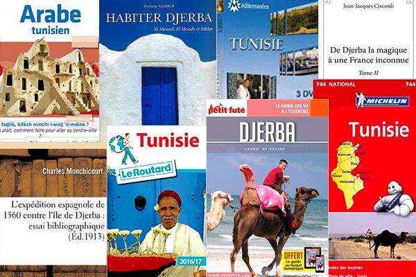 commander livre guide plan sur djerba tunisie