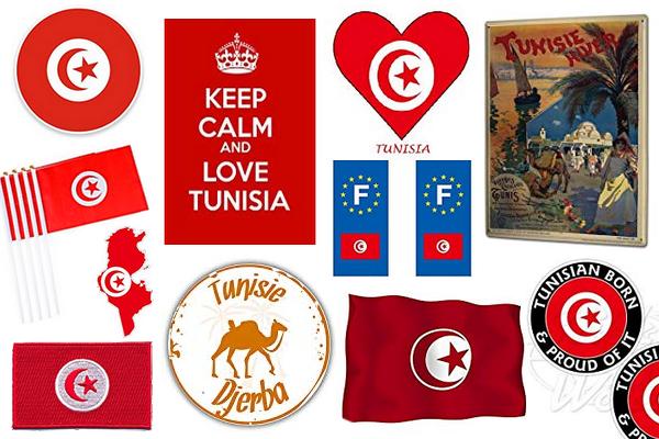 acheter stickers drapeaux plaques autocollants sur djerba et la tunisie