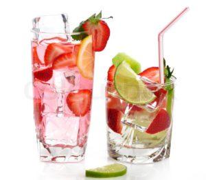 boire avec des glaçons en tunisie et à djerba