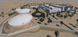 Station de dessalement de l'eau de mer de djerba
