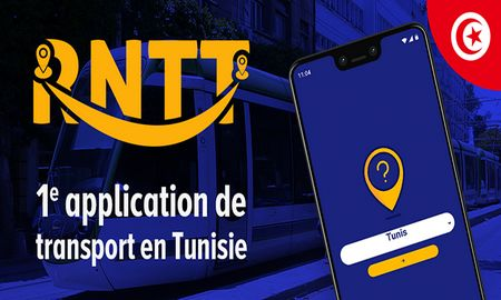 RNNT, l'application iPhone et Android Bus et Train en Tunisie