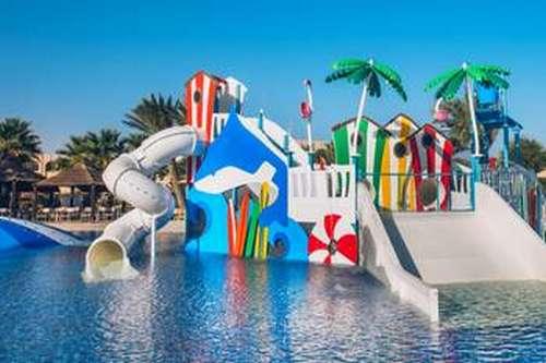 Hôtel Mehari Djerba Club enfants toboggans aquatiques