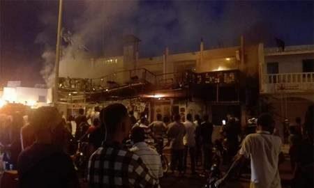 Incendie au célèbre Café «Lotophages»