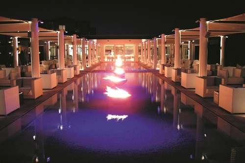 Radisson Blu Palace Djerba terrasse de nuit