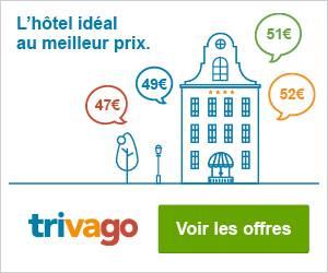 Trouvez l'hôtel au meilleur prix Trivago