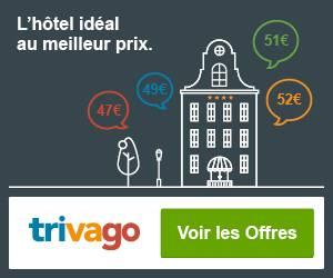 Trouvez l'hôtel idéal au meilleur prix avec Trivago
