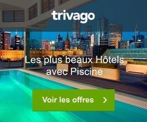 Trivago Les plus beaux Hôtels avec piscine