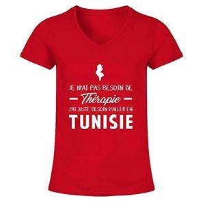 Je n'ai pas besoin de thérapie, j'ai juste besoin d'aller en Tunisie