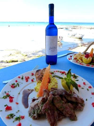 Restaurant The Sandy Beach Dar Jerba Hotels Djerba
