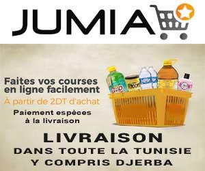 Jumia épicerie en ligne livraison Djerba