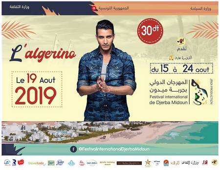L'Algérino Festival International Djerba Midoun 2019