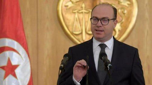élocution du chef du gouvernament tunisien dans le cadre de la crise coronavirus et des mesures de confinement décidées