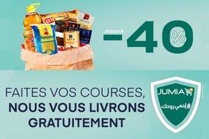Jumia livraison courses et achats à domicile gratuit tunisie djerba