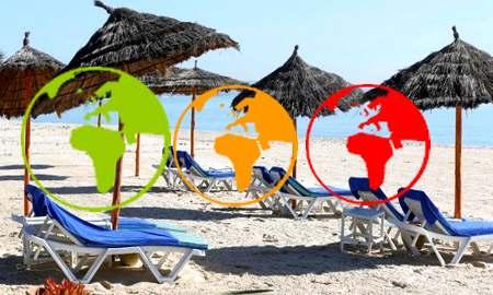Entrée en Tunisie: nouvelle classification des pays, la liste des pays classés vert s'agrandit !