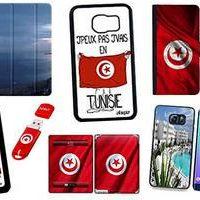 Coques téléphones mobiles et tablettes, clés usb Tunisie