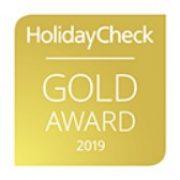 Gold Award 2019 HolidayCheck Mehari Djerba