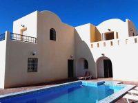 Villa avec piscine à louer à Djerba, proche plage, 3 chambres